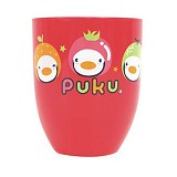 PUKU Baby Tooth Brush Cup 240cc [P17206] - Red